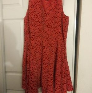 Metaphor womens size 18 W skeeveless dress